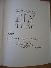 An Introduction To Fly Tying by Peter Cockwill 1990 SIGNED INSCRIBED Fishing