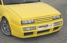 Spoiler parrilla Rieger con negro mate frontal de parrilla parrilla para VW Corrado