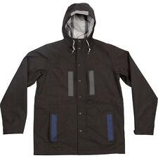 Mens POLER Outdoor Stuff 3L Duck Camping Hiking Jacket Coat SIZE L Black
