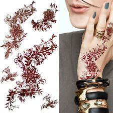 3D Waterproof Temporary India Mehndi Tattoo Decals Henna Body Art Tattoo Sticker
