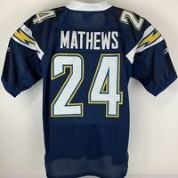 Ryan Mathews Los Angeles Chargers Size 50 Large Jersey #24 Reebok NFL Football