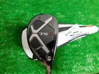 Titleist TS3 19* Hybrid HZRDUS Smoke 6.0 Stiff Graphite with 818 HC Excellent