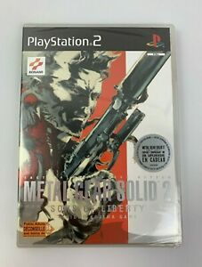 PS2 Metal Gear Solid 2 Sons of Liberty, French Version, New & Factory Sealed