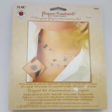Paper Couture's Elegant Paper Jewelry Accessories Flower Design Kit