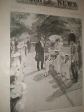 Jack Aird Son Mayor of Paddington cup for Prince Edward Marlborough House 1902
