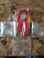 1981 NOAC Lot Bolo Tie Key Chains OA National Order of the Arrow Conference WWW
