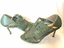 Genuine Designer Jimmy Choo Shoes Strappy Zip UK4/EU37