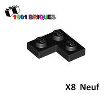 Lego 2420 x8 Plate 2 x 2 Corner Black