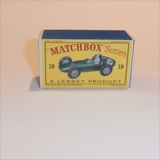 Matchbox Lesney 19 c Aston Martin Racer empty Repro D style Box
