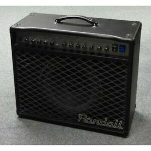 Randall RT50C combo amp all valve including foot switch