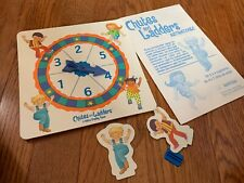 Chutes and Ladders Replacement Parts Pieces 1999 Spinner & 2 Pawns & 1 Holder