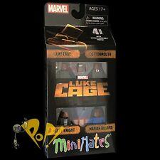 MARVEL Minimates LUKE CAGE Box Set NETFLIX Sealed COTTONMOUTH Misty & MARIAH!