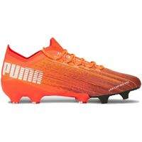 Chaussures de football Puma Ultra 1.1 Fg Ag M 106044 01 orange multicolore