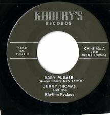 Jerry Thomas-BABY PLEASE/tell me-Khoury 'S Rockabilly Raw RNB Re