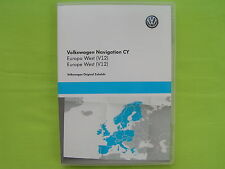DVD NAVIGATION CY EUROPA WEST 2015 V12 VW RNS 510 810 TOURAN CADDY JETTA EOS T5