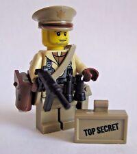 Lego Custom WWII US Lt. COLONEL Officer Minifigure Brickforge WW2