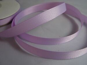 Lavender lilac grosgrain ribbon matte 25m full reel 10mm 25mm crafts diy wedding
