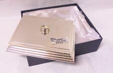 Contenitore Porta oggetti-biglietti da scrivania | Silver Plated Capjtal BOX
