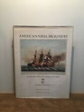 American Naval Broadsides By Edgar Newbold Smith,1st Ed,Illust,HCDJ, 1974