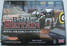 Lifecolor Acrylics LC-CS35 WW2 RAF Battle of Britain  Paint set