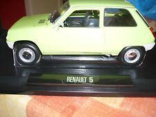 Renault 5 au 1/18° de Norev