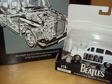 BEATLES DIECAST LONDON TAXI THE WHITE ALBUM & FX4 ENTHUSIAST HAYNES BOOK NEW