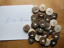 1 - xx Stück Hirschhorn Knöpfe echtes Hirschhorn ca. 20 mm DM Tracht/Oktoberfest