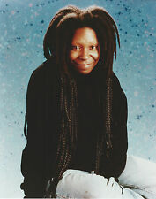 WHOOPI GOLDBERG 8 X 10 PHOTO WITH ULTRA PRO TOPLOADER