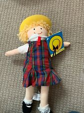 """17"""" Nicole Dressable Ragdoll Plush Doll With Tags Madeline 2002 Learning Curve"""