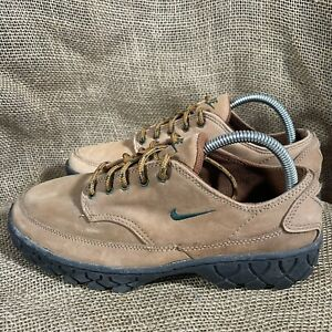 Vintage 1995 Nike ACG Low Top Suede Hiking Shoe Boot Grail Leather Women's Sz 9