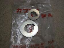 KAWASAKI NOS LOCK WASHERS W1 W2 650   420B1410 & 420B1070