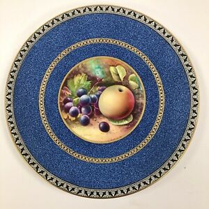 A Superb Wedgwood Plate Painted By Arthur Dale Holland. c.1915