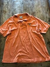 Mens Lacoste Polo Shirt Orange Size 6 Large