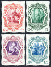 Italy 419-422, MNH. Galileo Galilei, 1564-1642, 1942