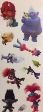 TROLLS WORLD TOUR wall stickers 11 decals room decor Poppy Guy Branch dolls