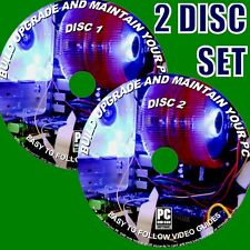 BUILD & REPAIR YOUR OWN COMPUTER 2 DVDs COMPREHENSIVE VIDEO GUIDES NEW PC/DVDs