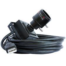 2.8-12mm Varifocal Lens 2MP CMOS OV2710 30/60/120fps High Speed USB Camera 1080P