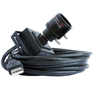 ELP Mini UVC USB Camera w/ 2.8-12mm Varifocal Lens 8MP SONY IMX179 HD Web camera
