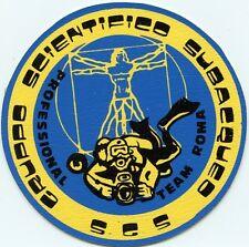 STICKER (Anno 1982) * SGS * GRUPPO SCIENTIFICO SUBACQUEO PROFESSIONAL TEAM ROMA*