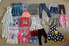 Girls Clothes 4 - 6 Yrs Coats Next Disney Dresses Trousers Hat Bundle Job Lot