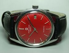 VINTAGE Favre Leuba GENEVE DAYMATIC AUTO MENS Wrist Watch OLD USED B418 Antique