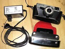 CMEHA/SMENA SL Kamera/Sucherkamera+Objektiv USSR + SL3 Blitzgerät VEB Elgawa DDR