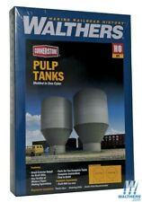 Walthers 933-3904 Pulp Tanks Superior Paper Kit HO Scale Train