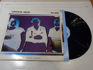 TANGERINE DREAM - Poland - 1984 UK 4-track double vinyl LP