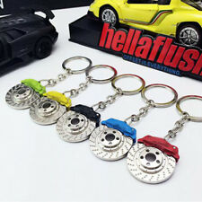 Parts Calipers Shape Alloy Zinc Keyfinder KeyRing Keyfob Disc Brake Keychain