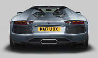 number plate MAN U xx officially MA17 UXX MAN Utd private plate for 2017 cars