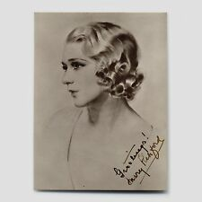 MARY PICKFORD VINTAGE AUTOGRAPHED PHOTO w/LIFETIME AUTHENTICITY GUARANTEE!!!