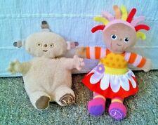 In The Night Garden Plush Lot of 2 Makka Pakka & Upsy Daisy Soft Stuffed Toys