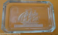 """CZECH HOFFMAN BUTTERFLY PIN DISH MASTED SHIP  4 7/8"""" BY 3 1/8"""""""