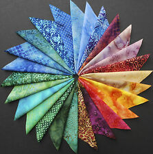 """Batiks 26 6"""" 100% Cotton Squares Quilting Crafting Sewing Fabric Timeless TB-130"""